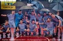 FCFO II vainqueur du trophée des champions 2017 (matin)